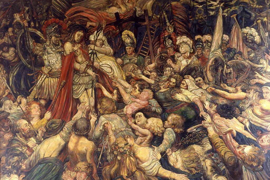 """""""Le Christ aux outrages"""", Henry de Groux, 1889, DR"""