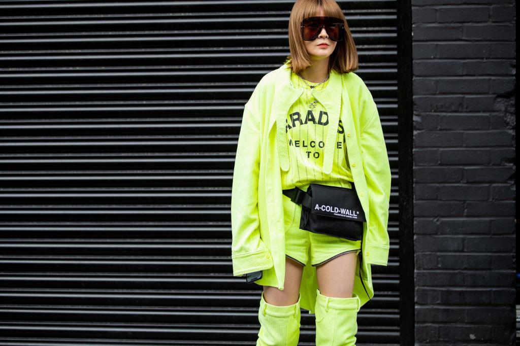 De opvallendste trend van deze zomer is veruit neon-kleding, Getty
