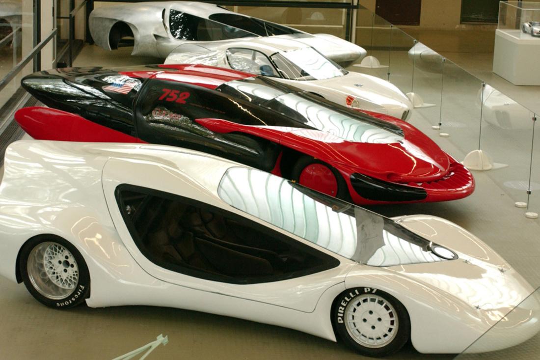 autos designées par Luigi Colani, Getty Images