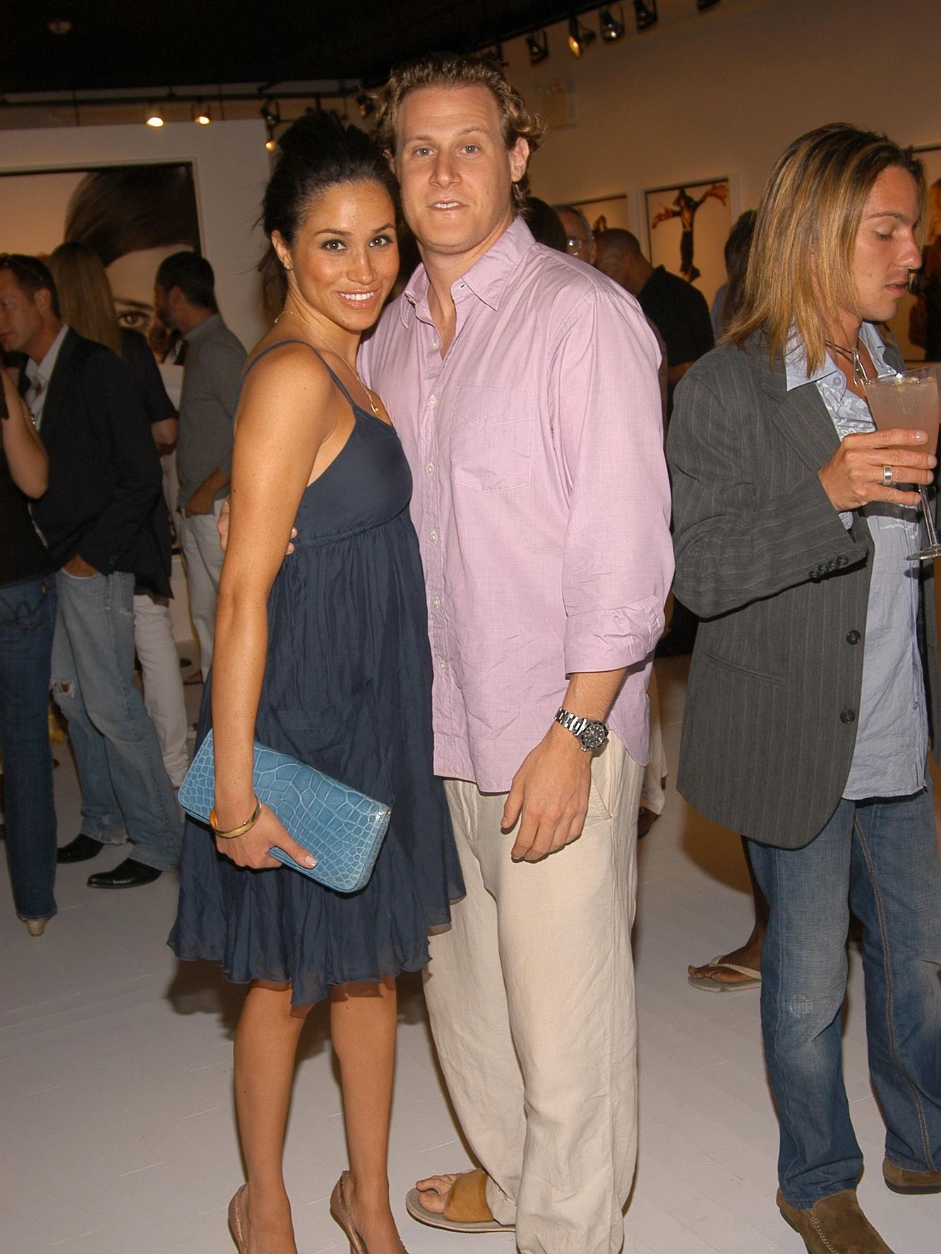 Meghan et son premier mari Trevor Engelson, Getty Images