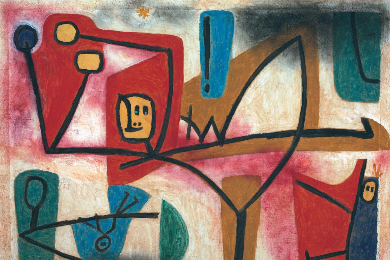 Uebermut (Arrogance), Paul Klee, 1939, Zentrum Paul Klee, Getty