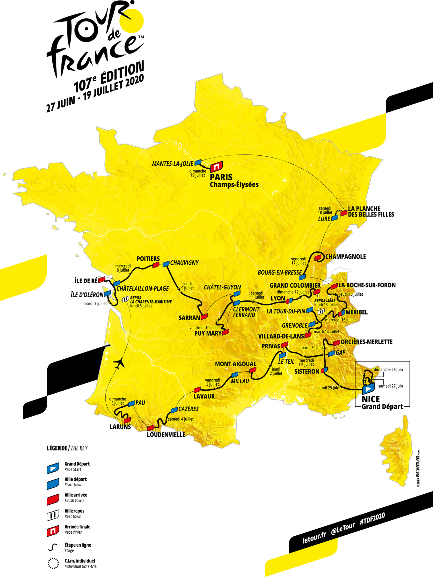 Tour de France 2020, Belga Image