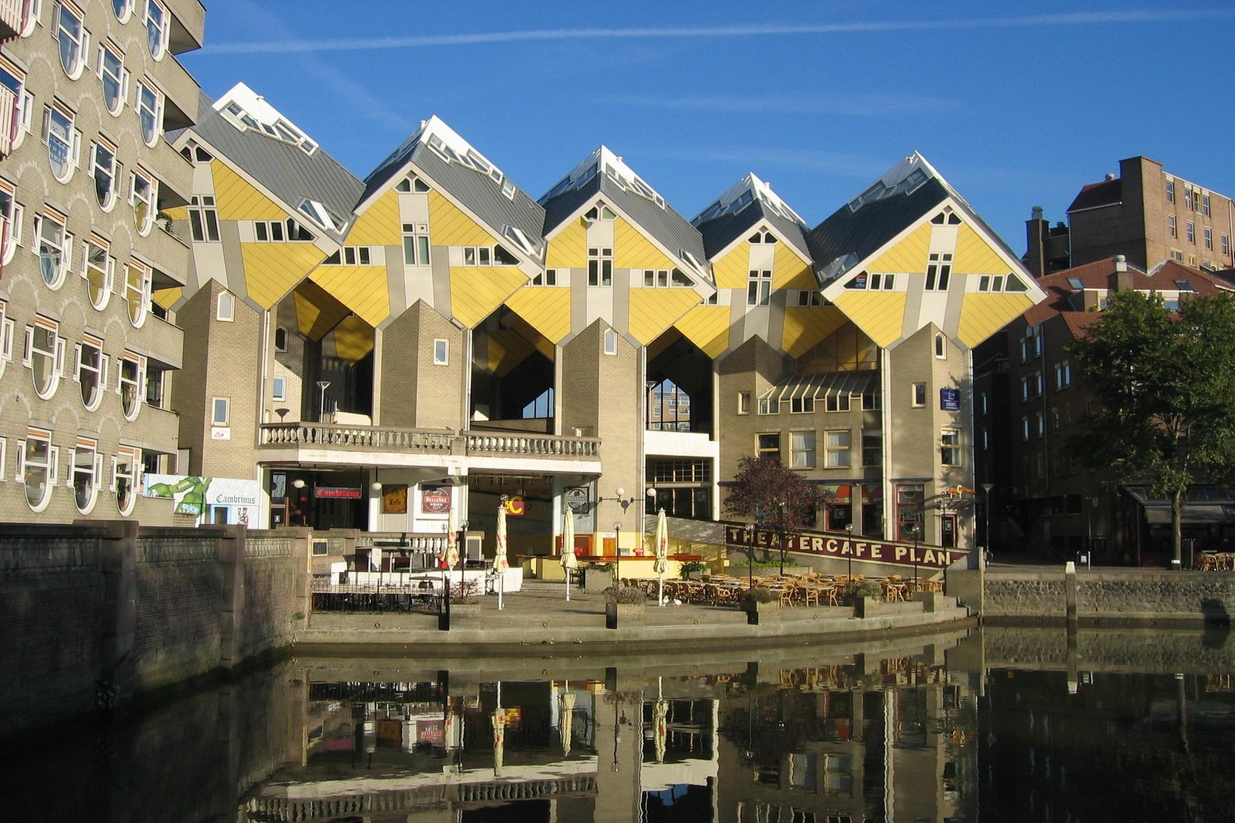 De kubuswoningen in Rotterdam, Foto R.V.