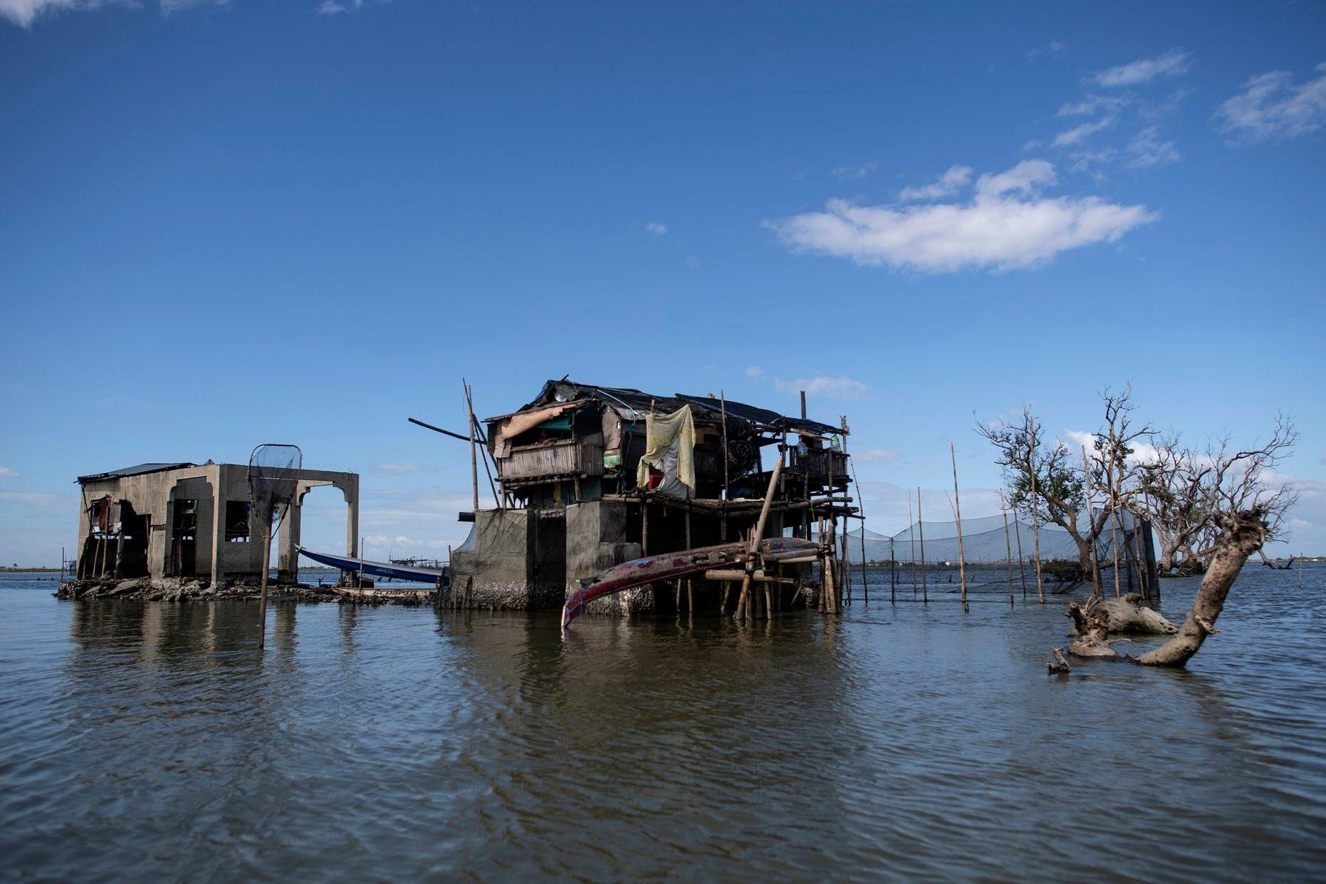 Sitio Pariahan aux Philippines, AFP