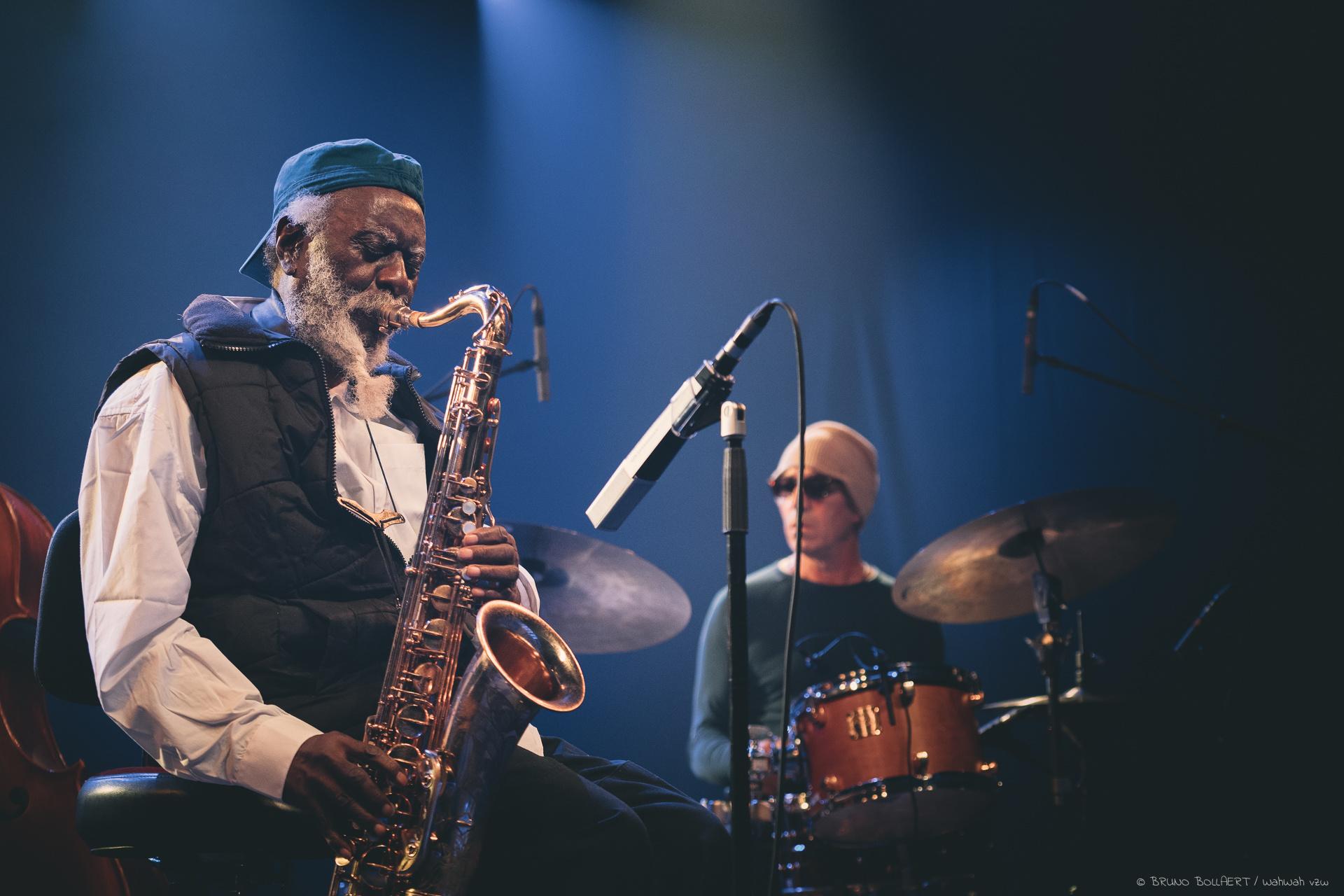 Pharoah Sanders Quartet, Bruno Bollaert
