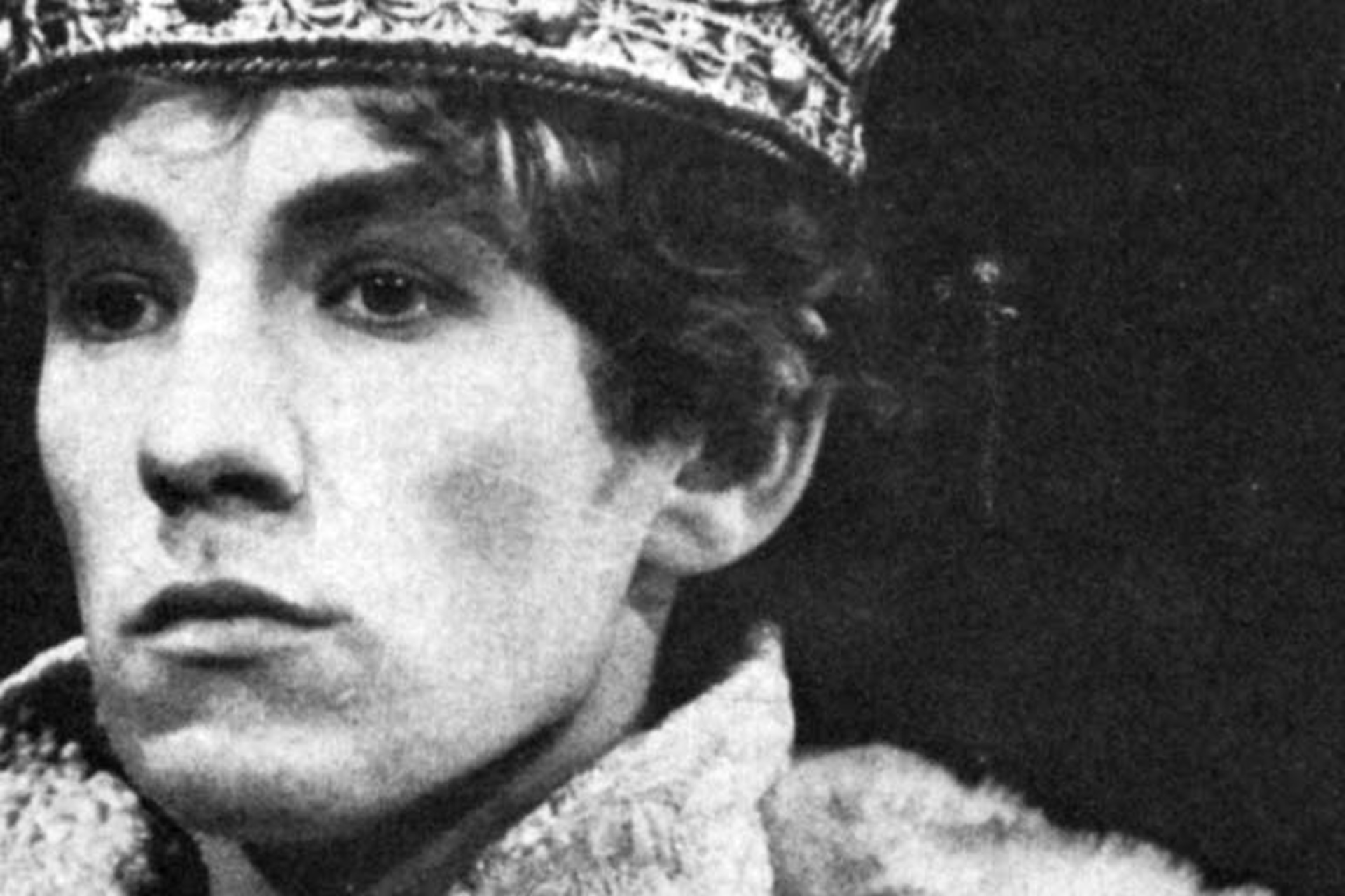 Ian McKellen als Richard II in 1968, mckellen.com