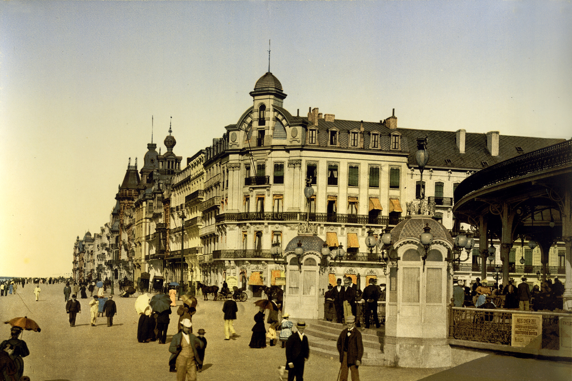 La digue d'Ostende (vers 1895), Inconnu