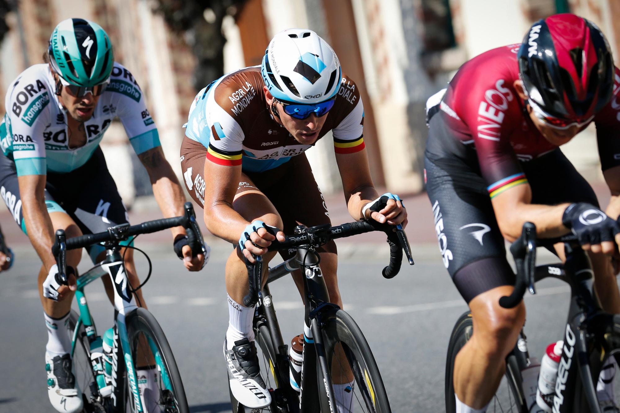 De kansen voor renners zoals Naesen, Van Avermaet en Stuyven lijken grotendeels achter de rug., belgaimage