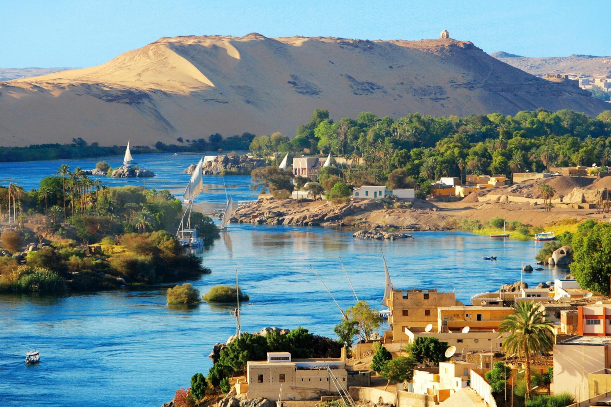 Aswan in Egypte, Getty