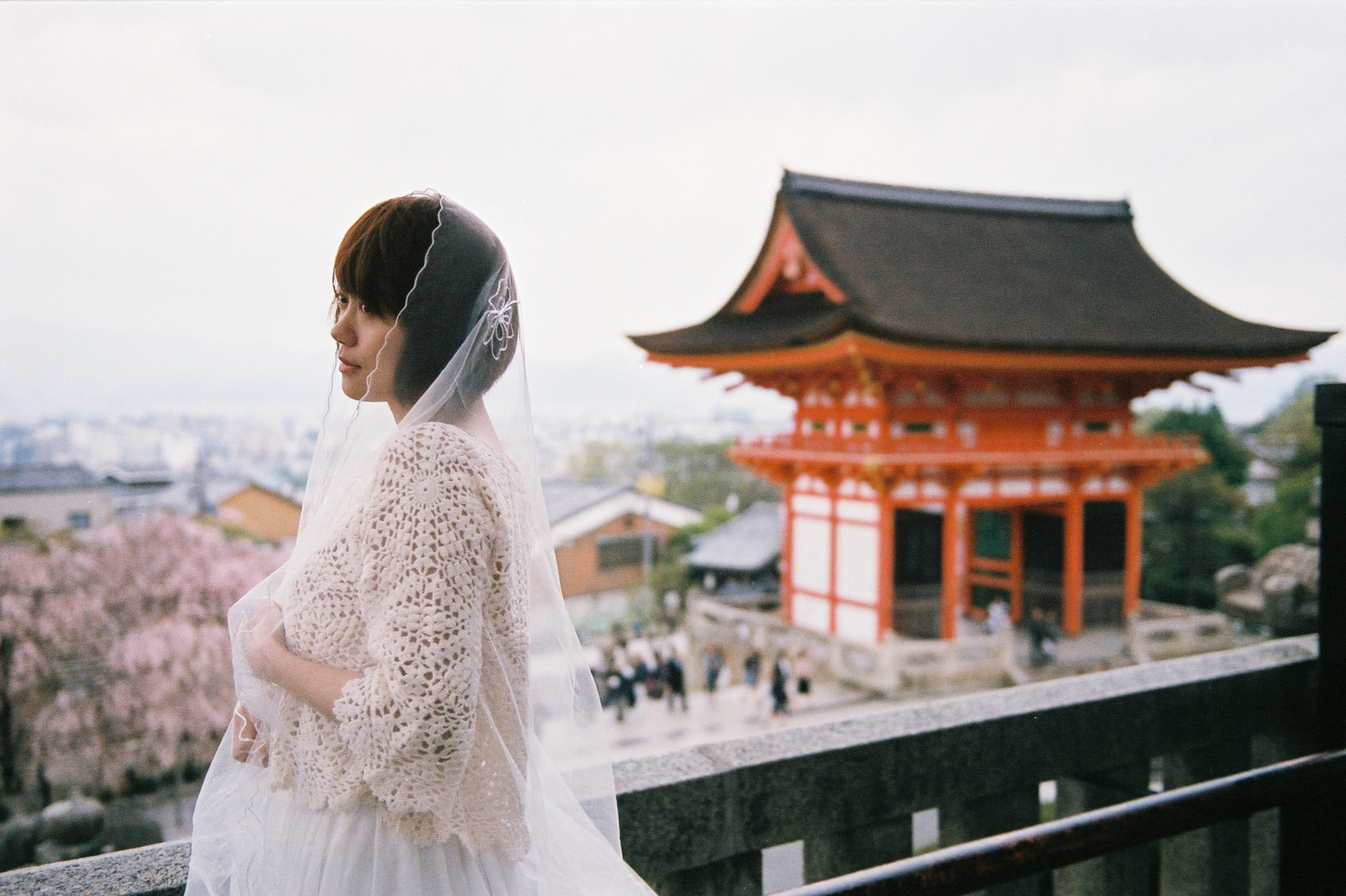 Kiyomizu-dera in Kyoto., Getty