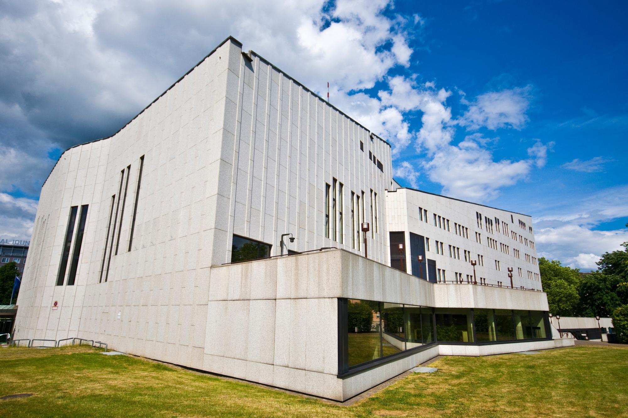 Le Théâtre Aalto à Essen, Getty