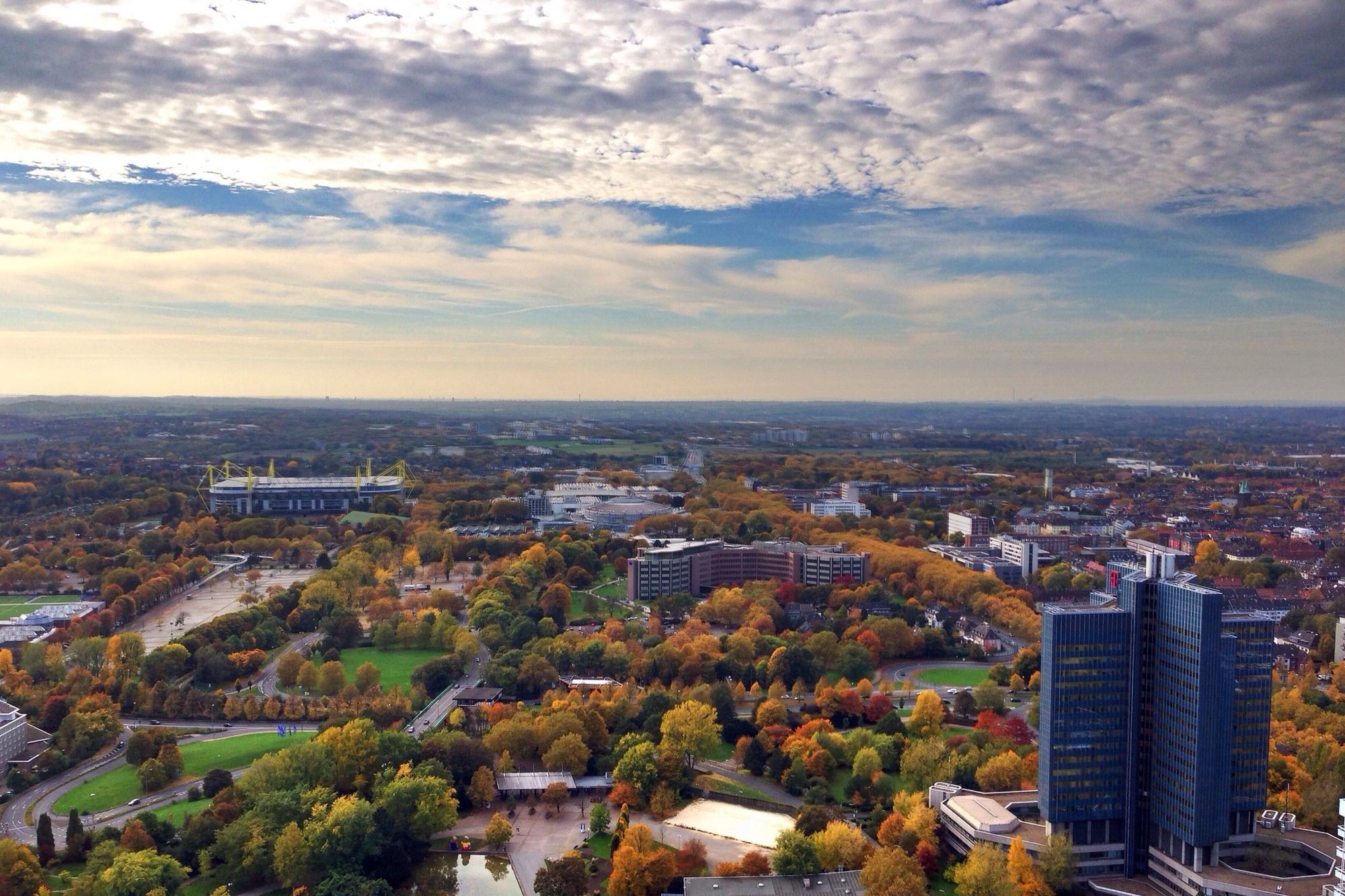 Dortmund et ses nombreux parcs, Getty
