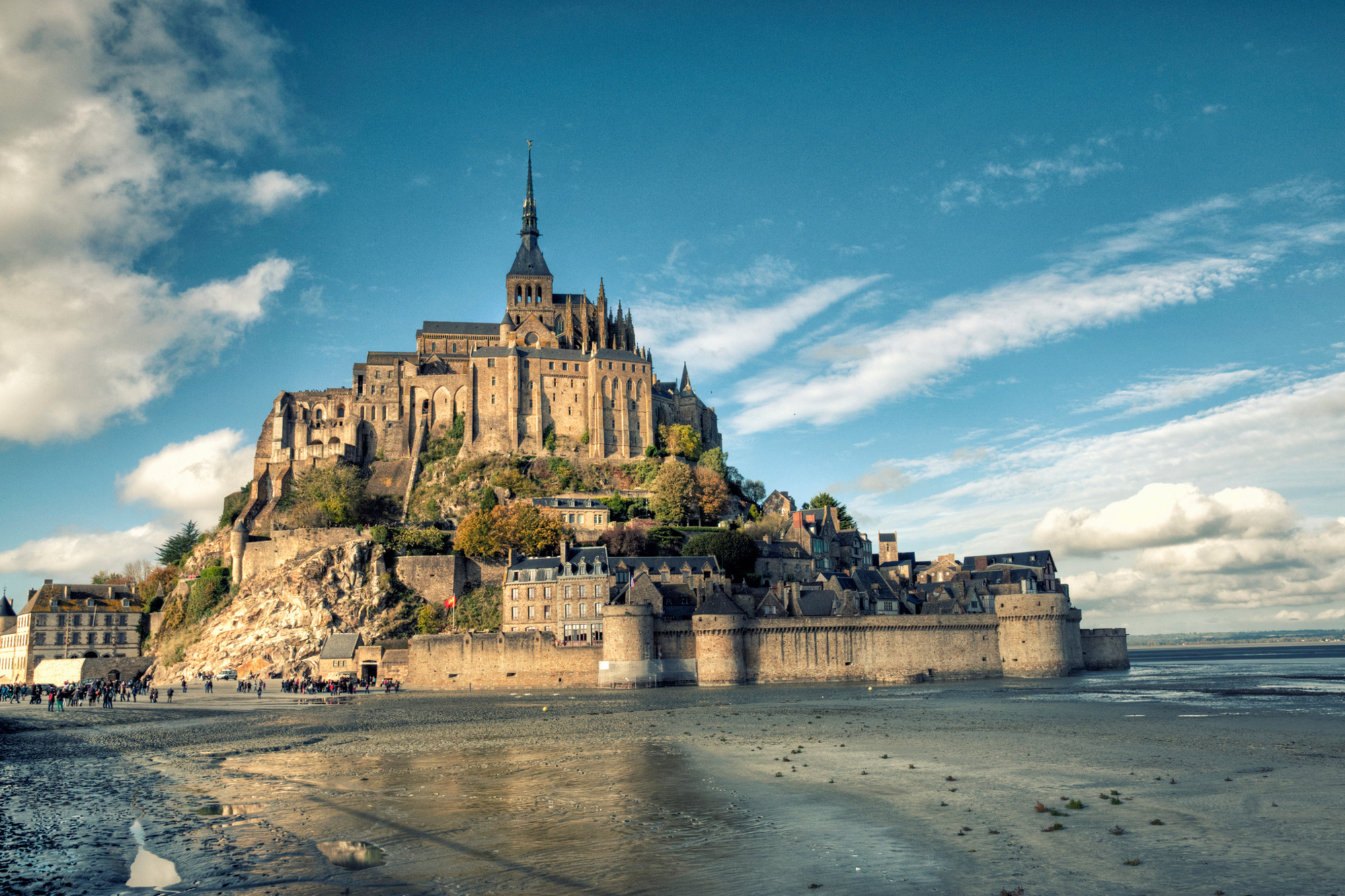 De mythische Mont Saint-Michel., Getty