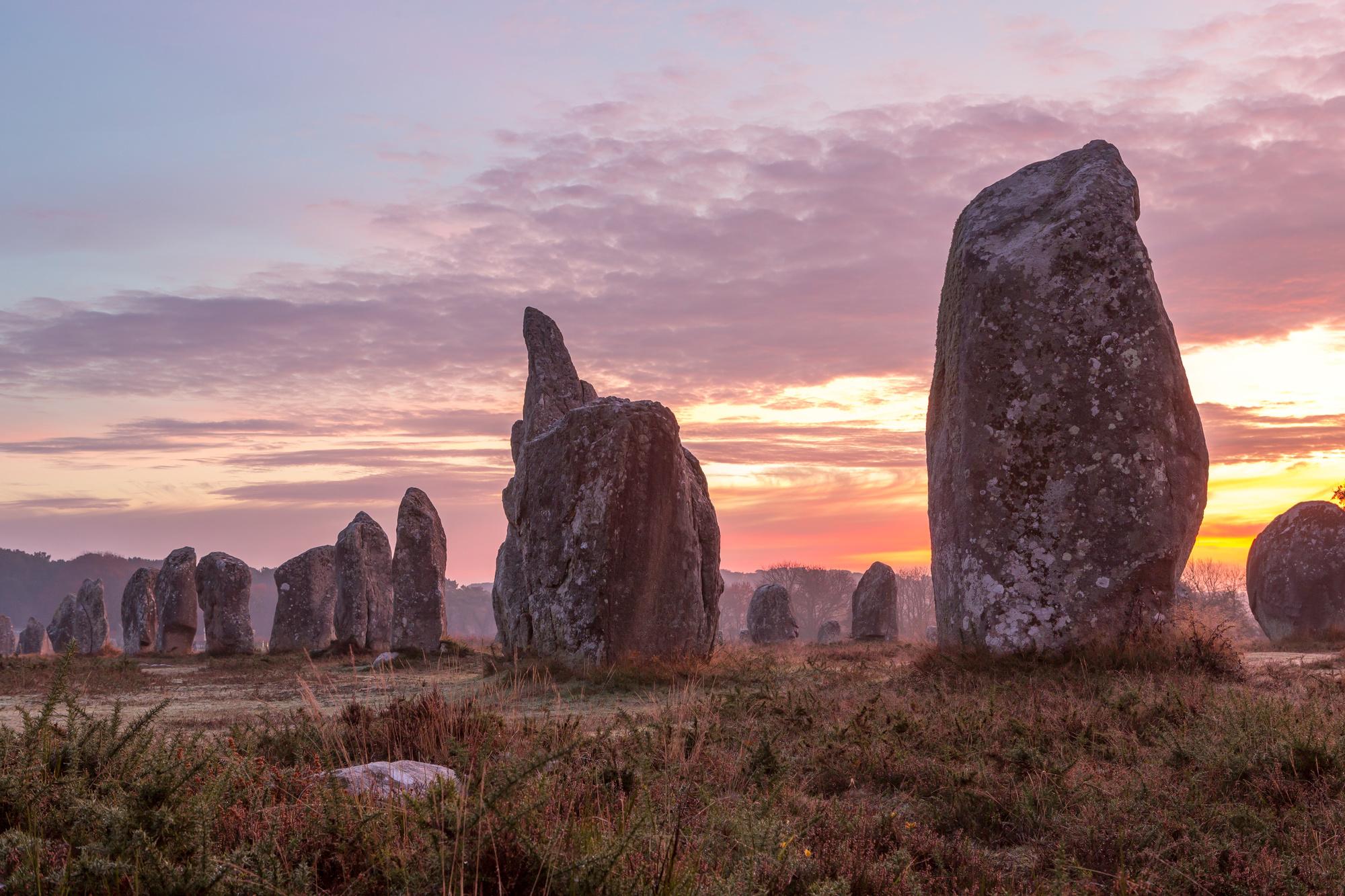 Een uitstapje naar de prehistorie in Frankijk, Foto R.V.