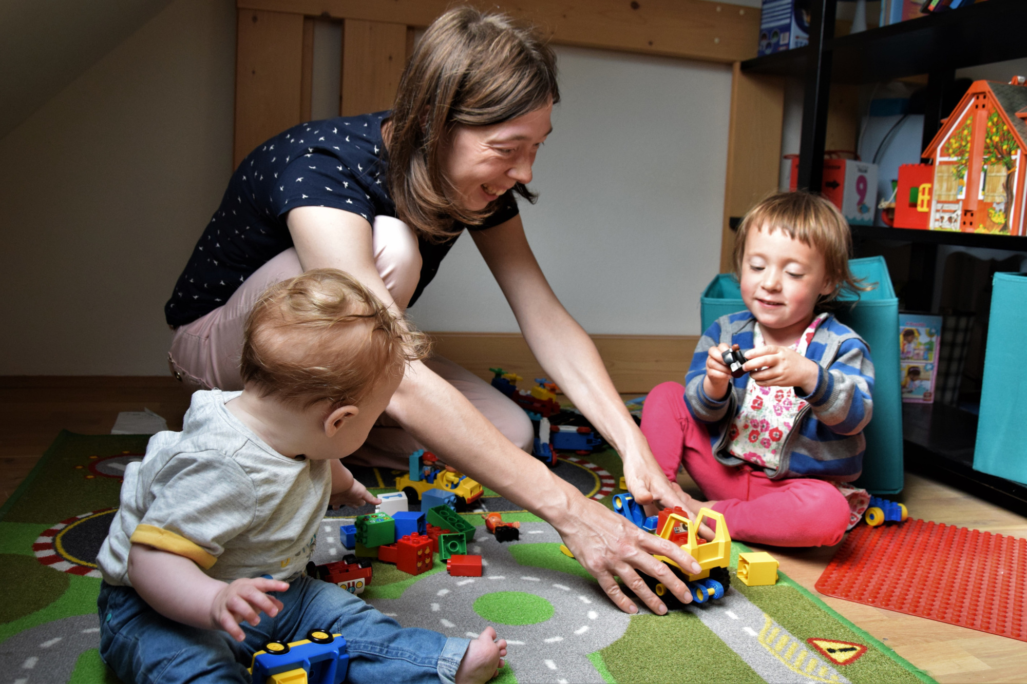 Jolien en haar kinderen., Giulia Latinne