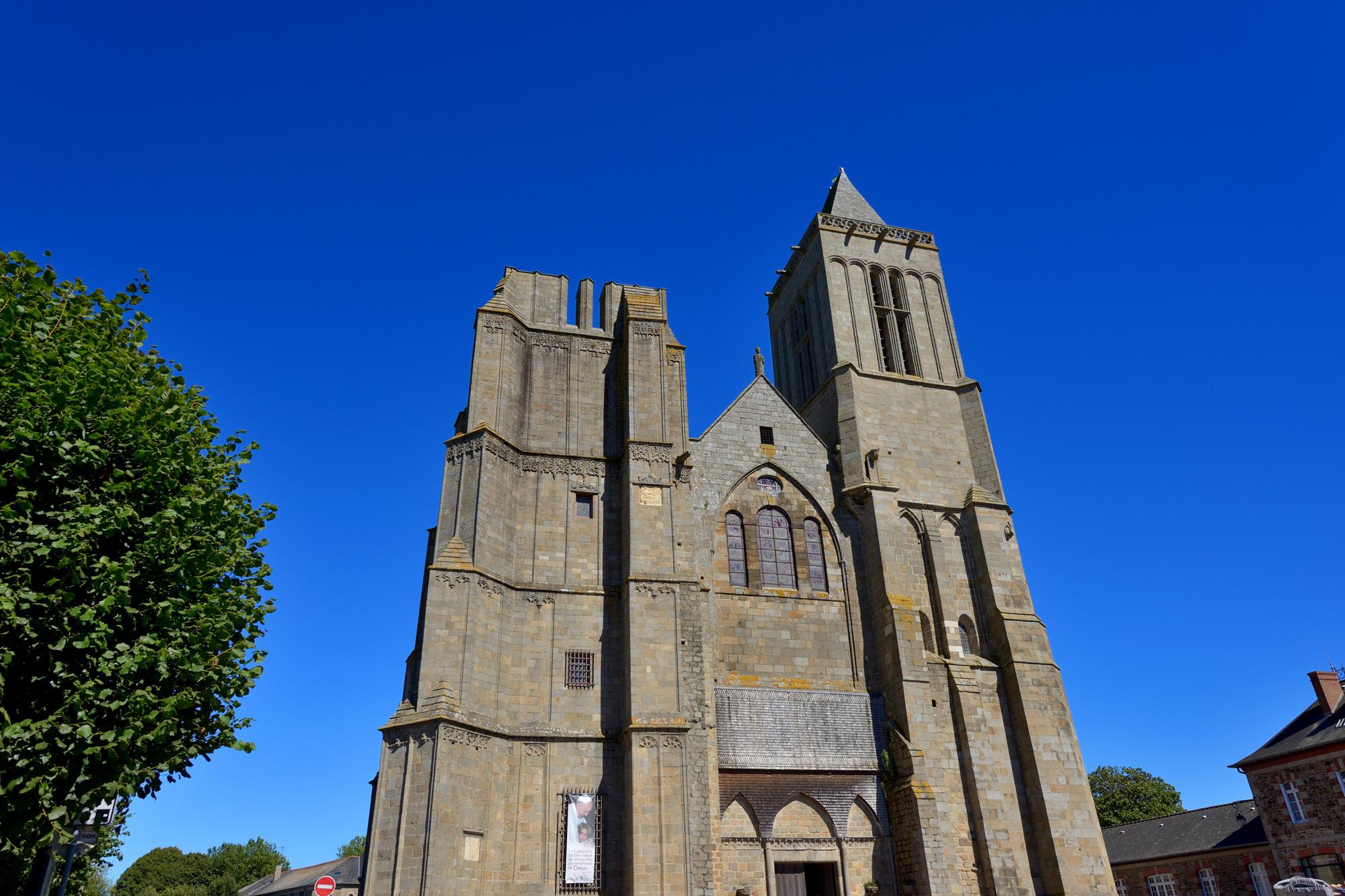 De kathedraal van Dol-de-Bretagne., Getty