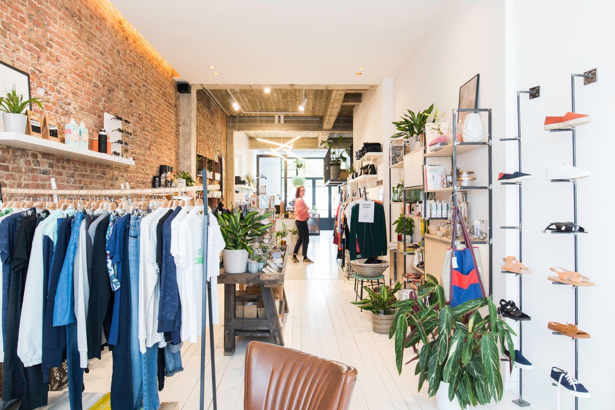 Fair fashion winkel Host in Berchem, Birgit Sterckx