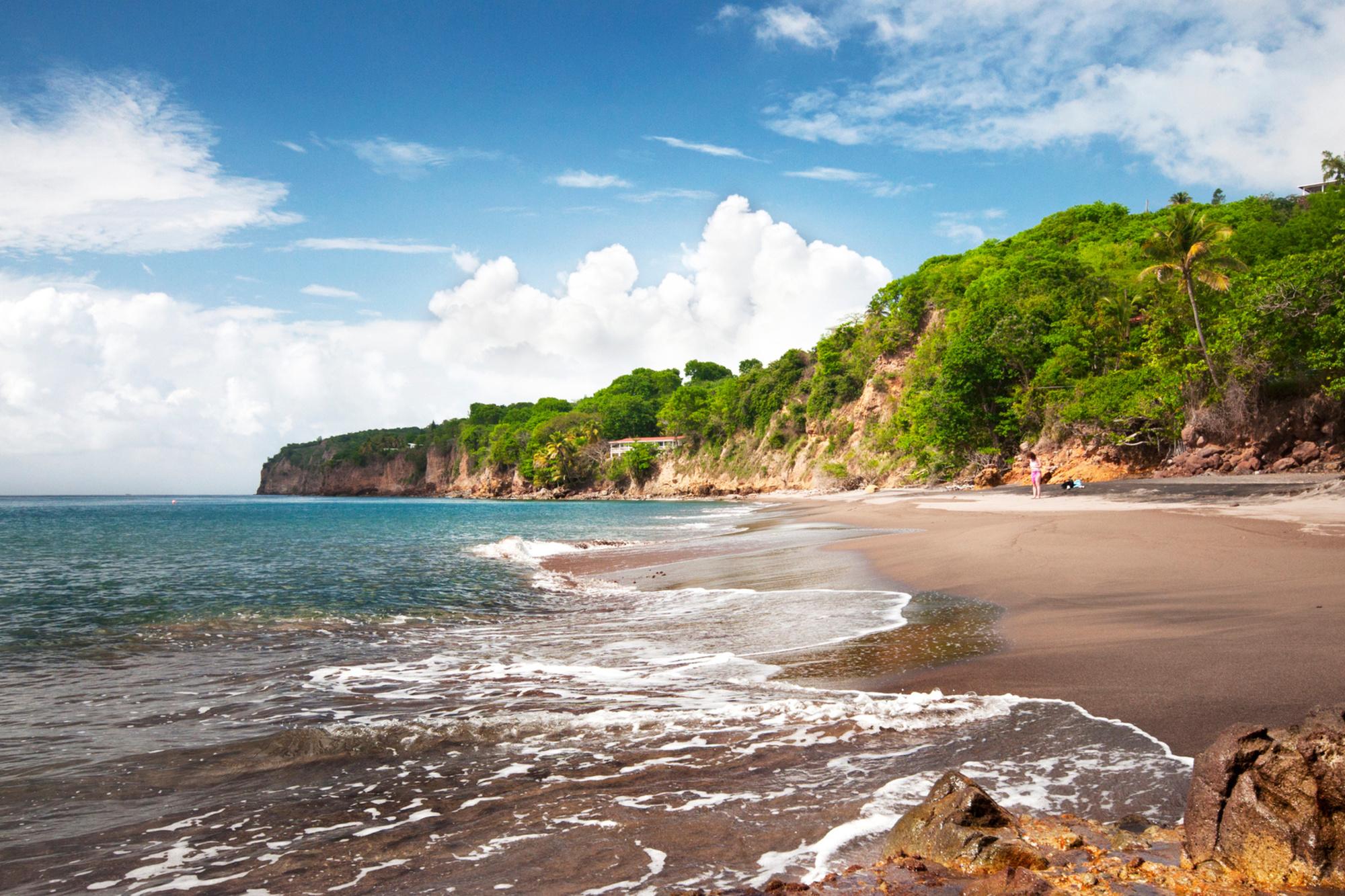 De uitgestrekte stranden van Montserrat, Getty