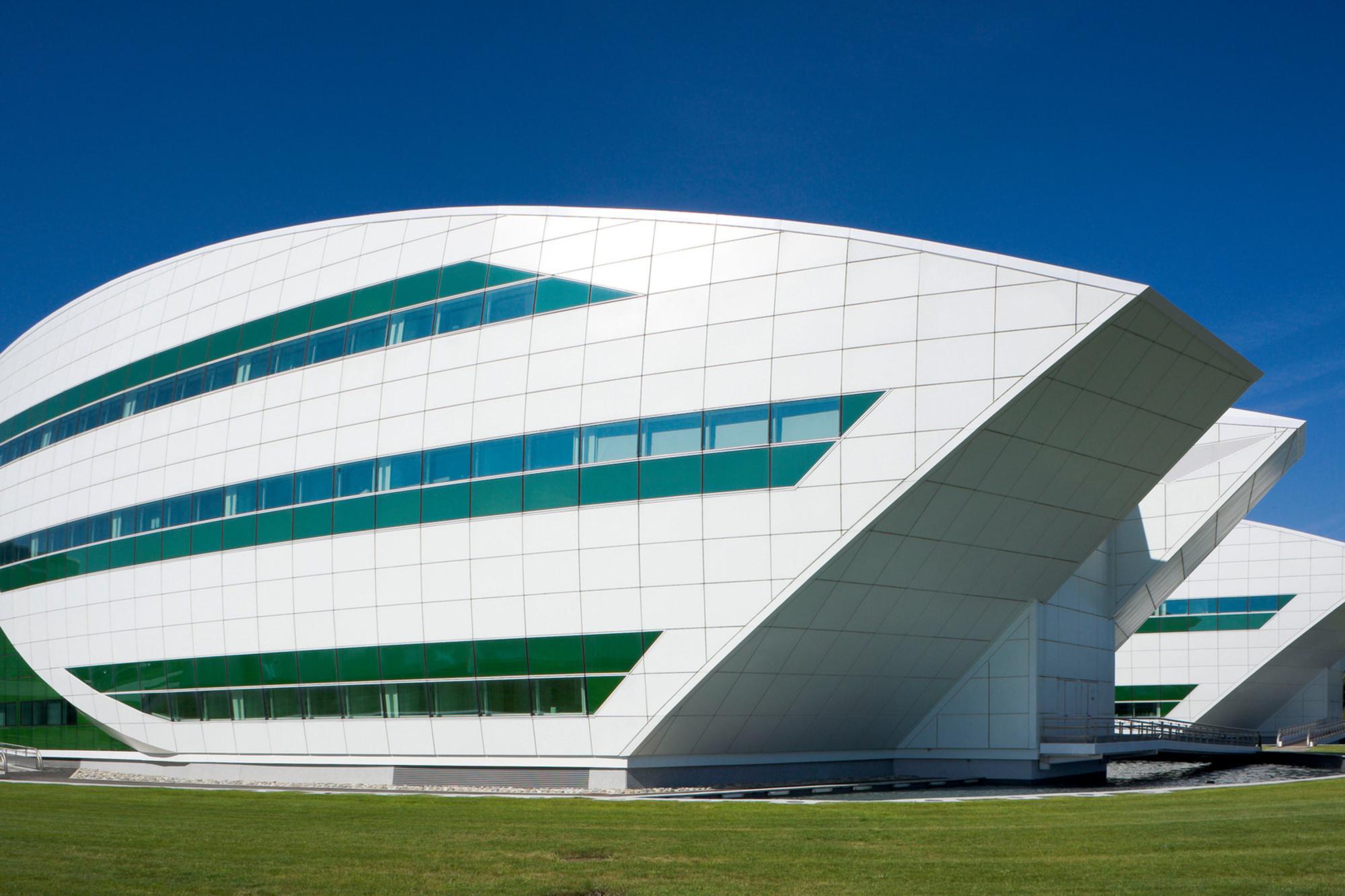 Centre de recherches Pierre Fabre, à Toulouse, inspiré des mythiques vaisseaux spatiaux de Star Wars, Getty Images