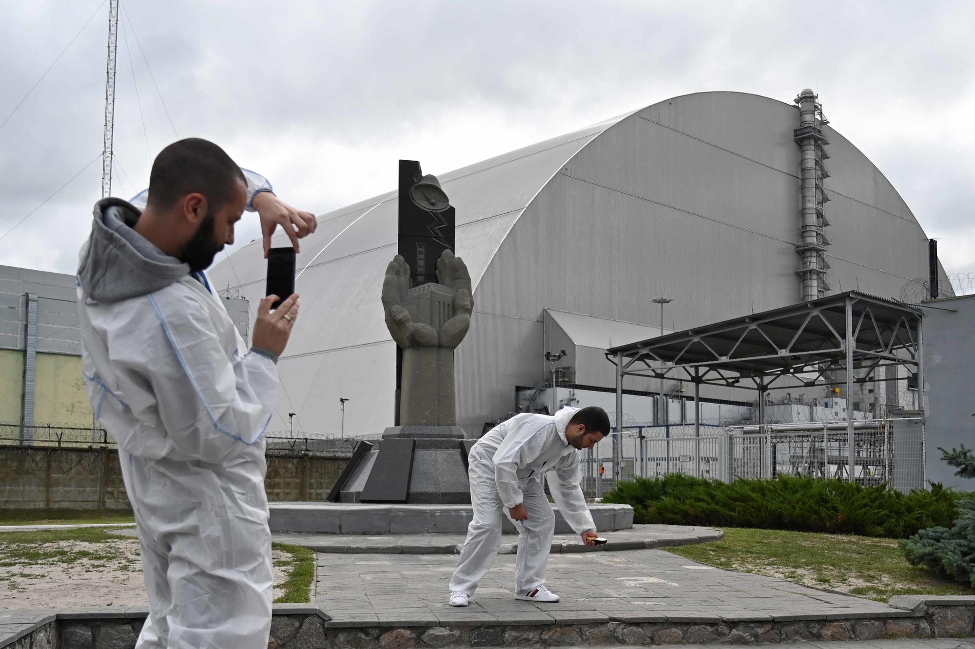 Tchernobyl, AFP