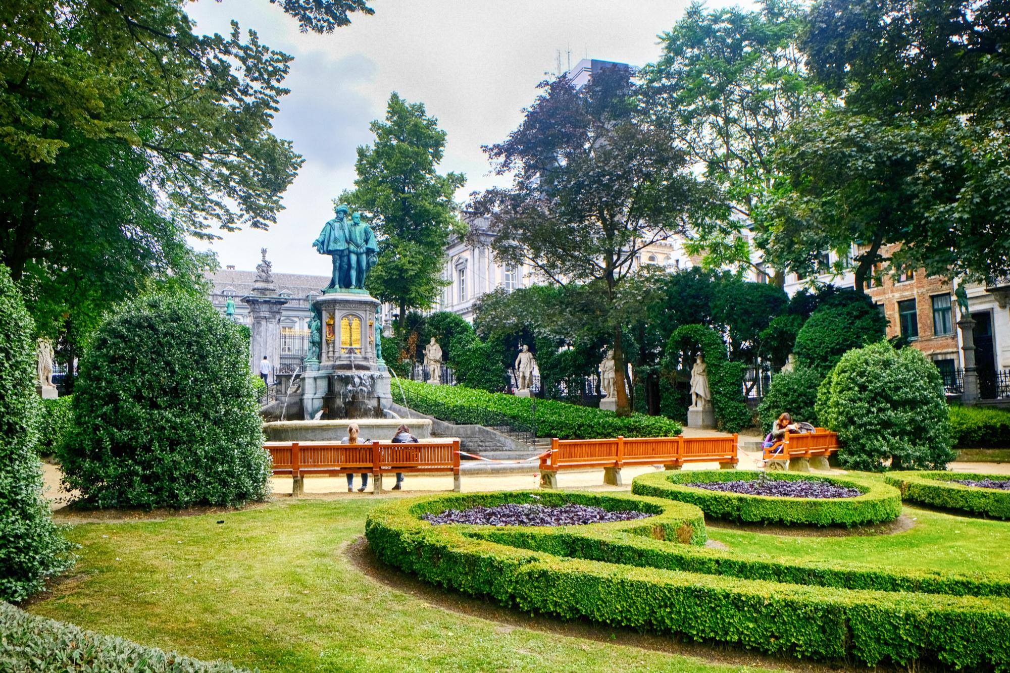Het Jubelpark in Brussel, Getty Images
