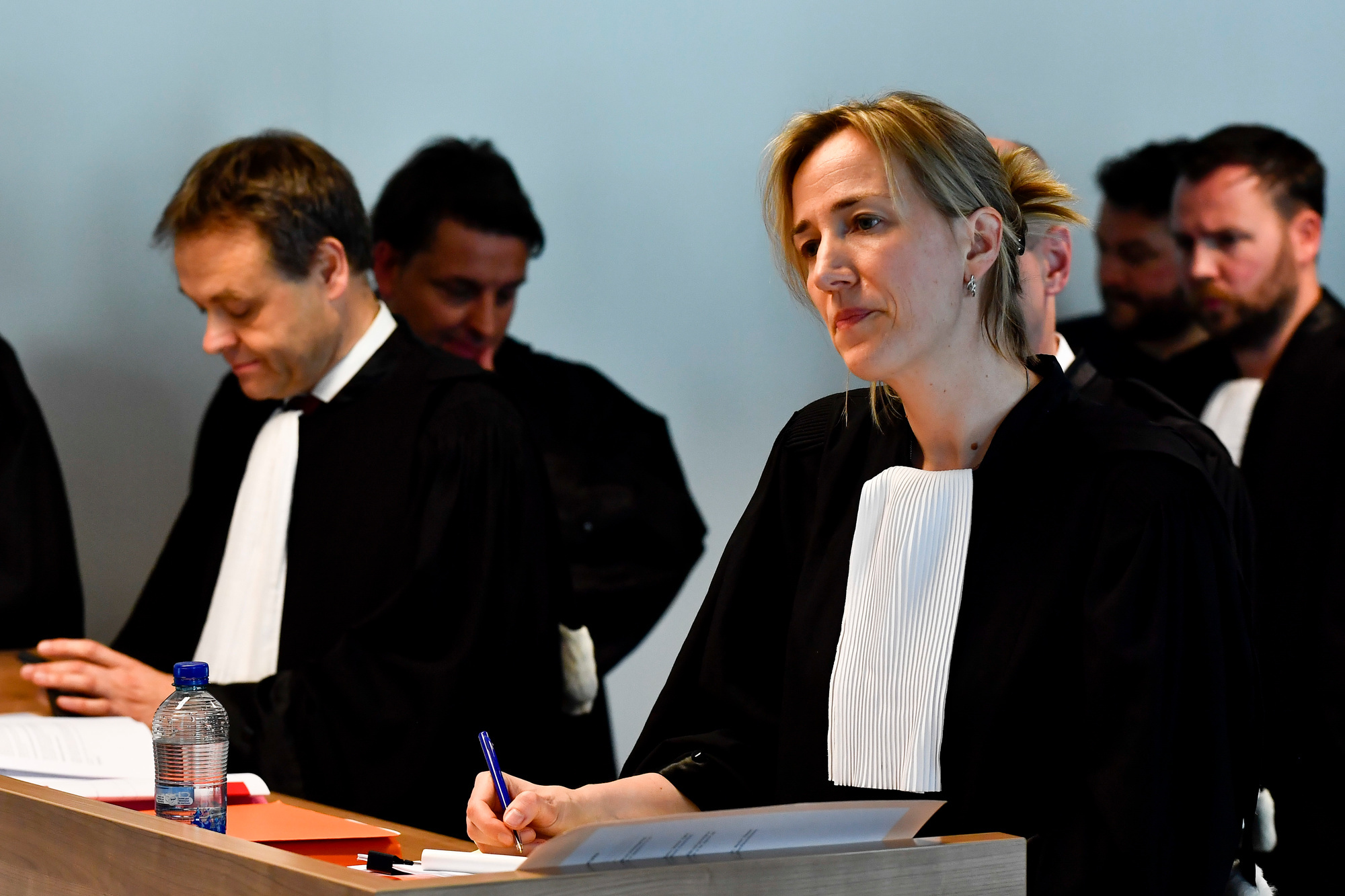 KBVB-advocate Elisabeth Matthys kon een pertinente vraag van het BAS niet overtuigend counteren.