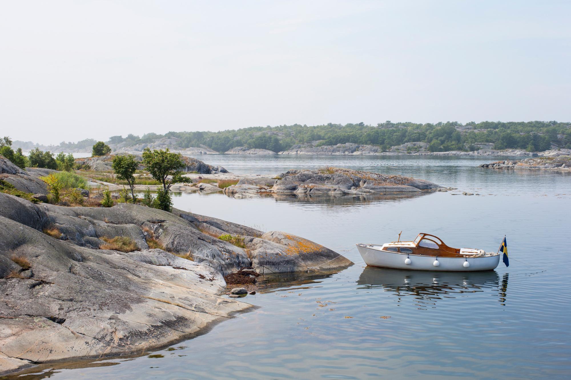 De archipel, skärgård in het Zweeds, van Stockholm, Getty