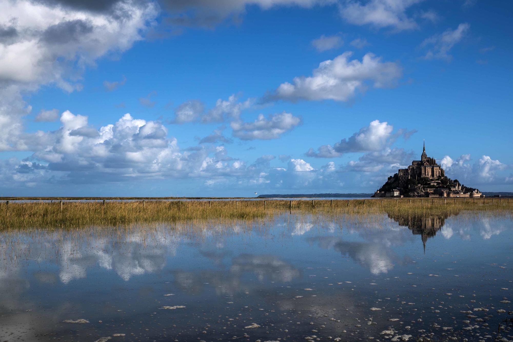 Mont-Saint-Michel, AFP