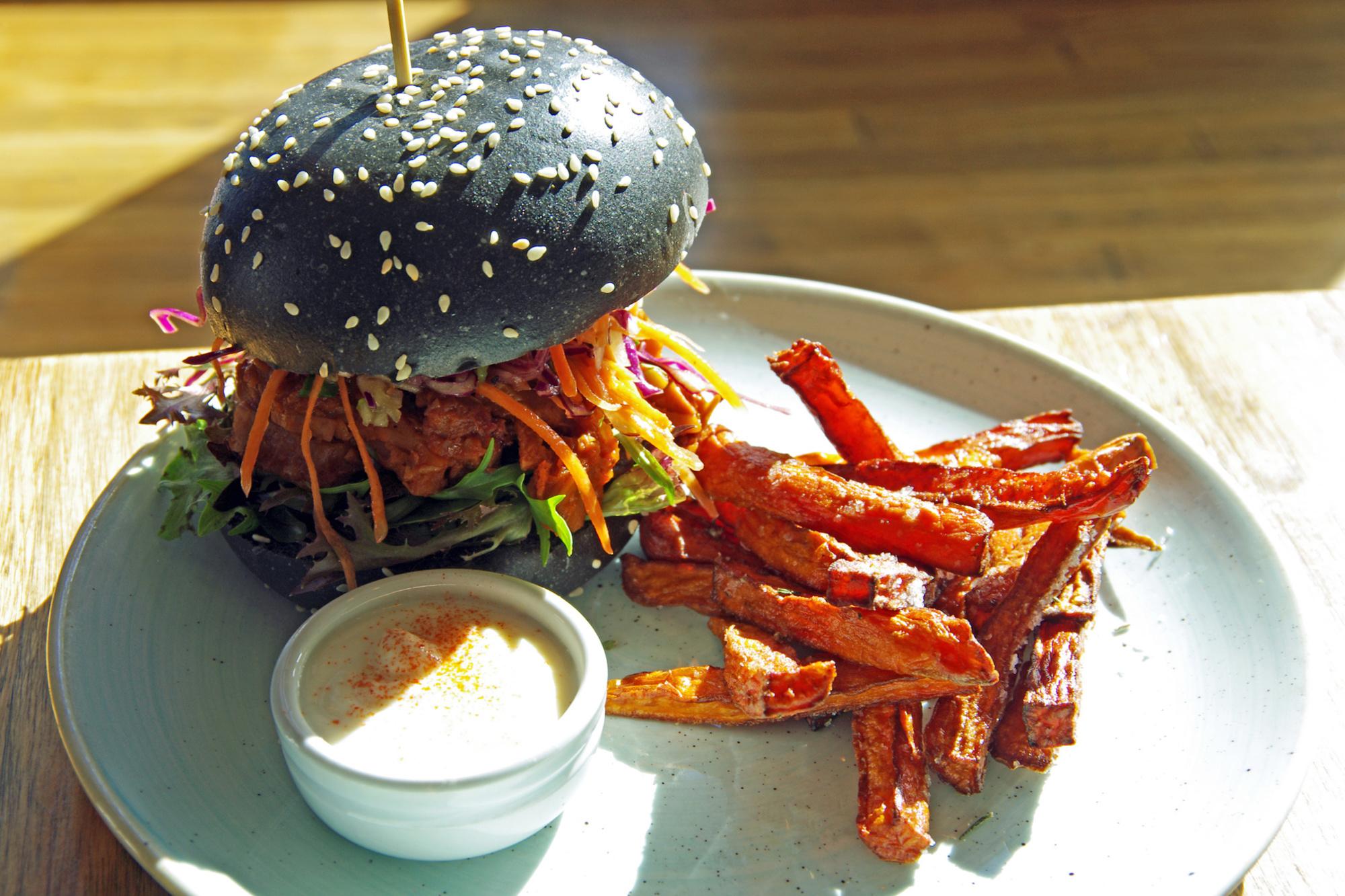 Vegan burger, gf