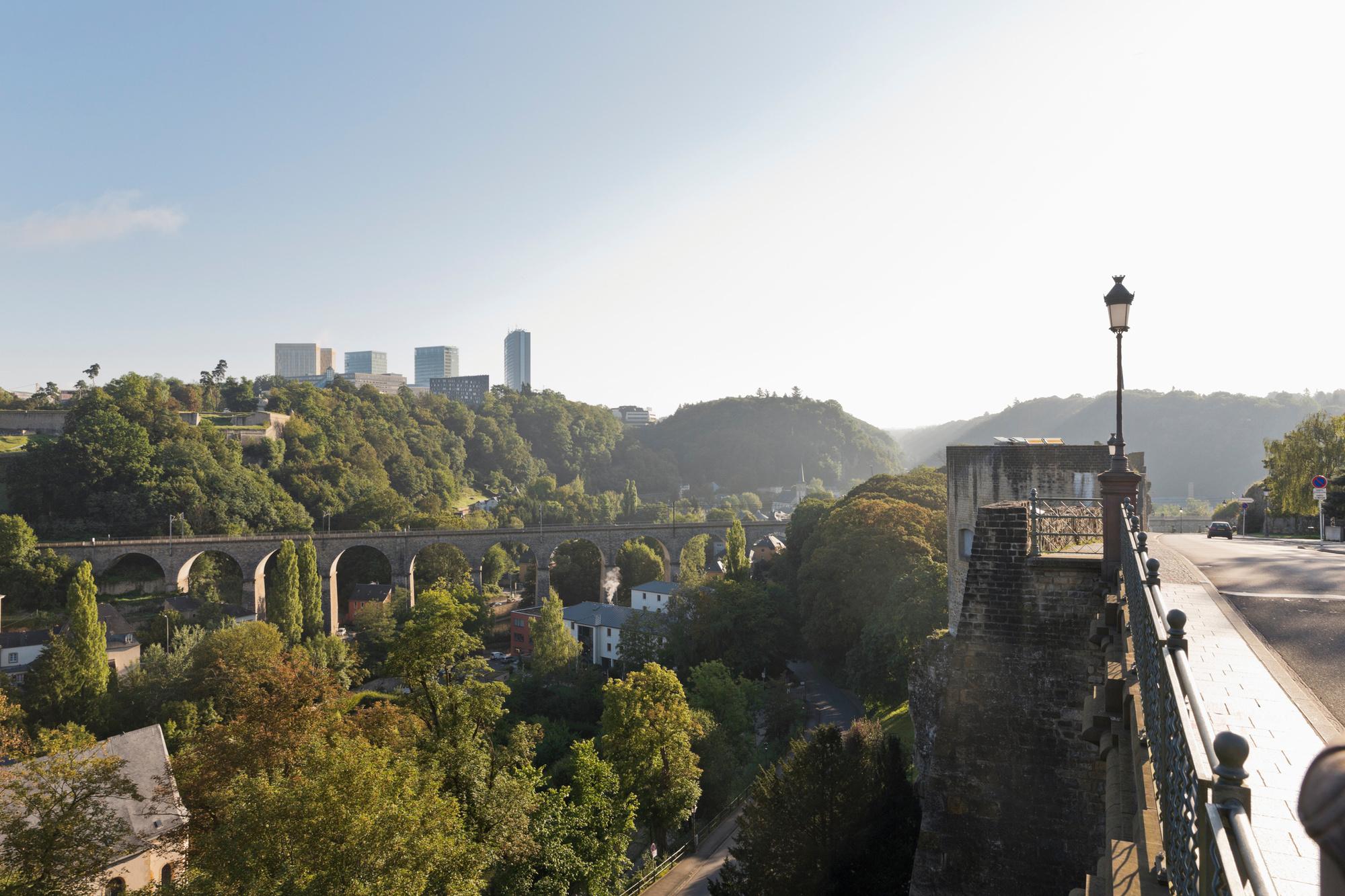Oude binnenstad van Luxemburg, Getty
