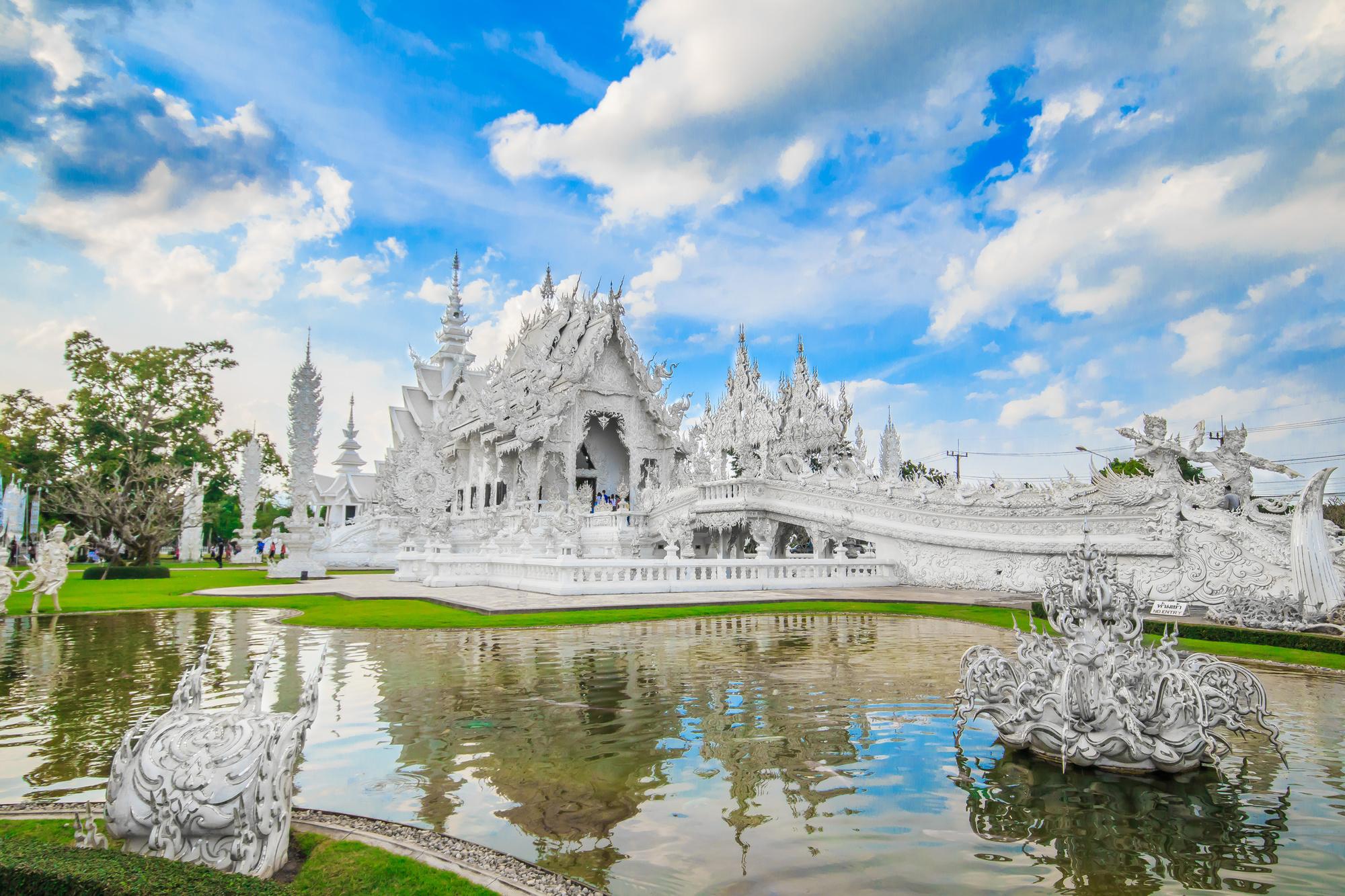 Wat Rong Khun in Chiang Rai., Getty