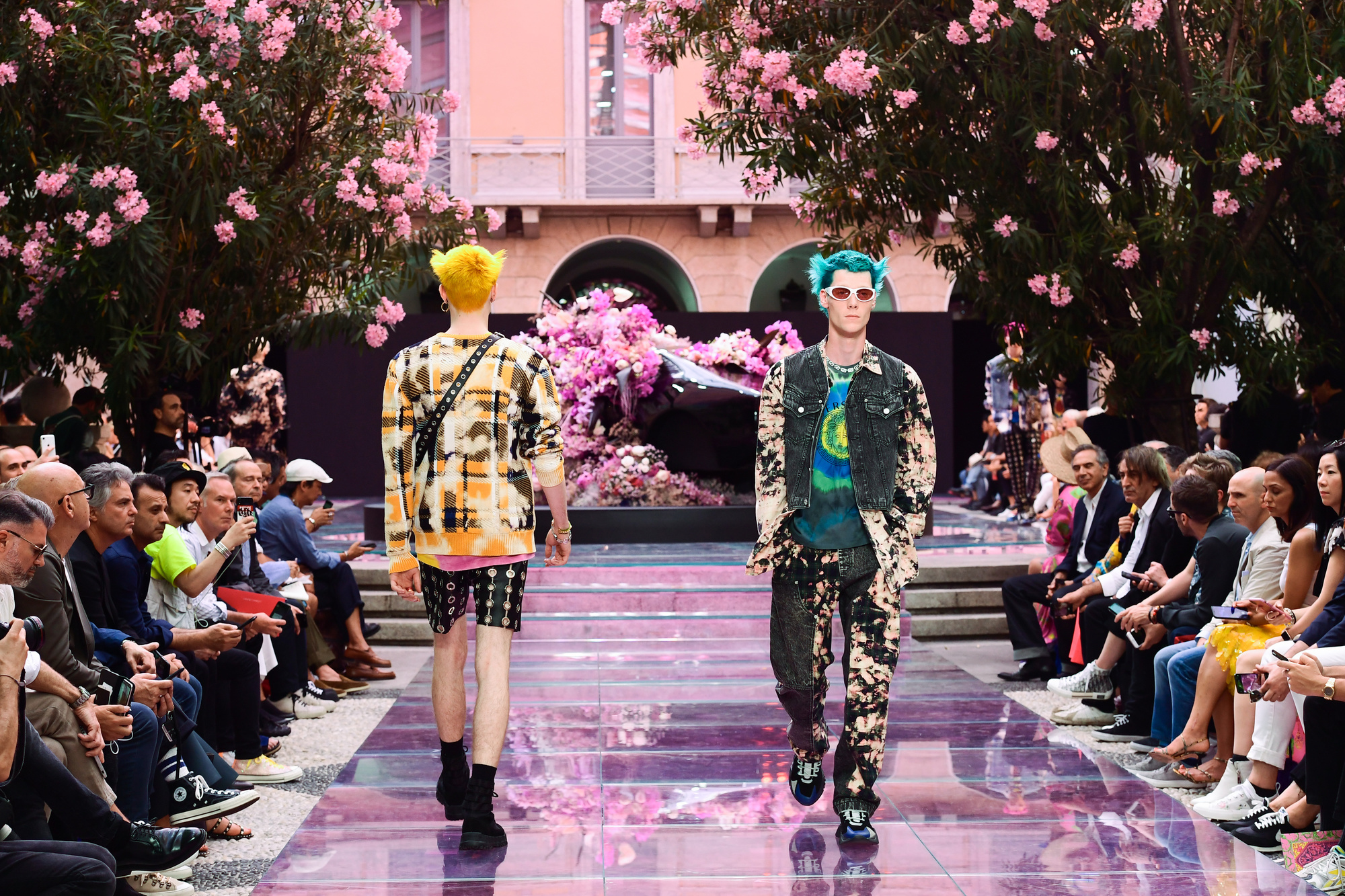 Collection printemps/été 2020 - Versace, AFP