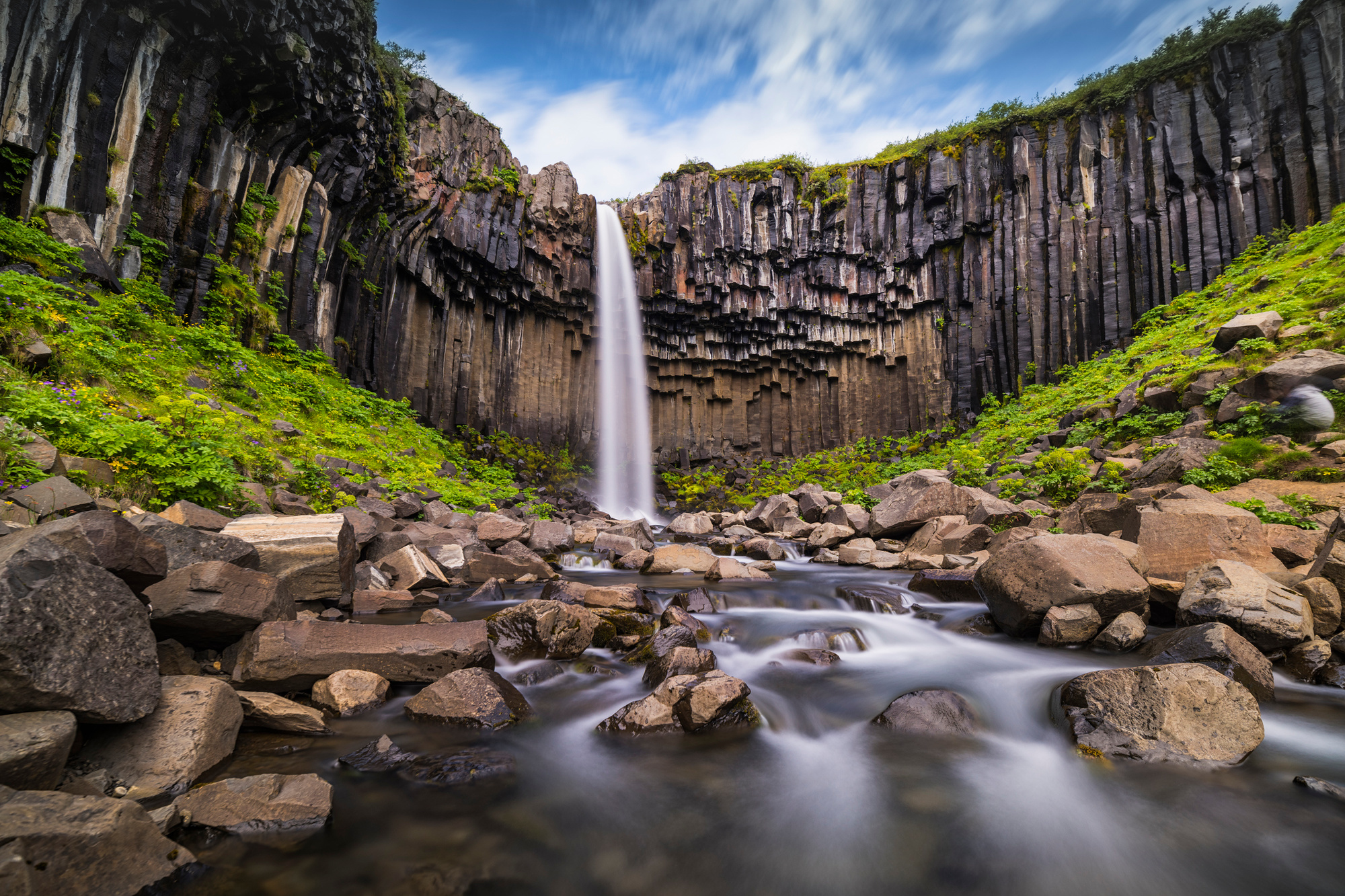 Svartifoss (IJsland), Getty