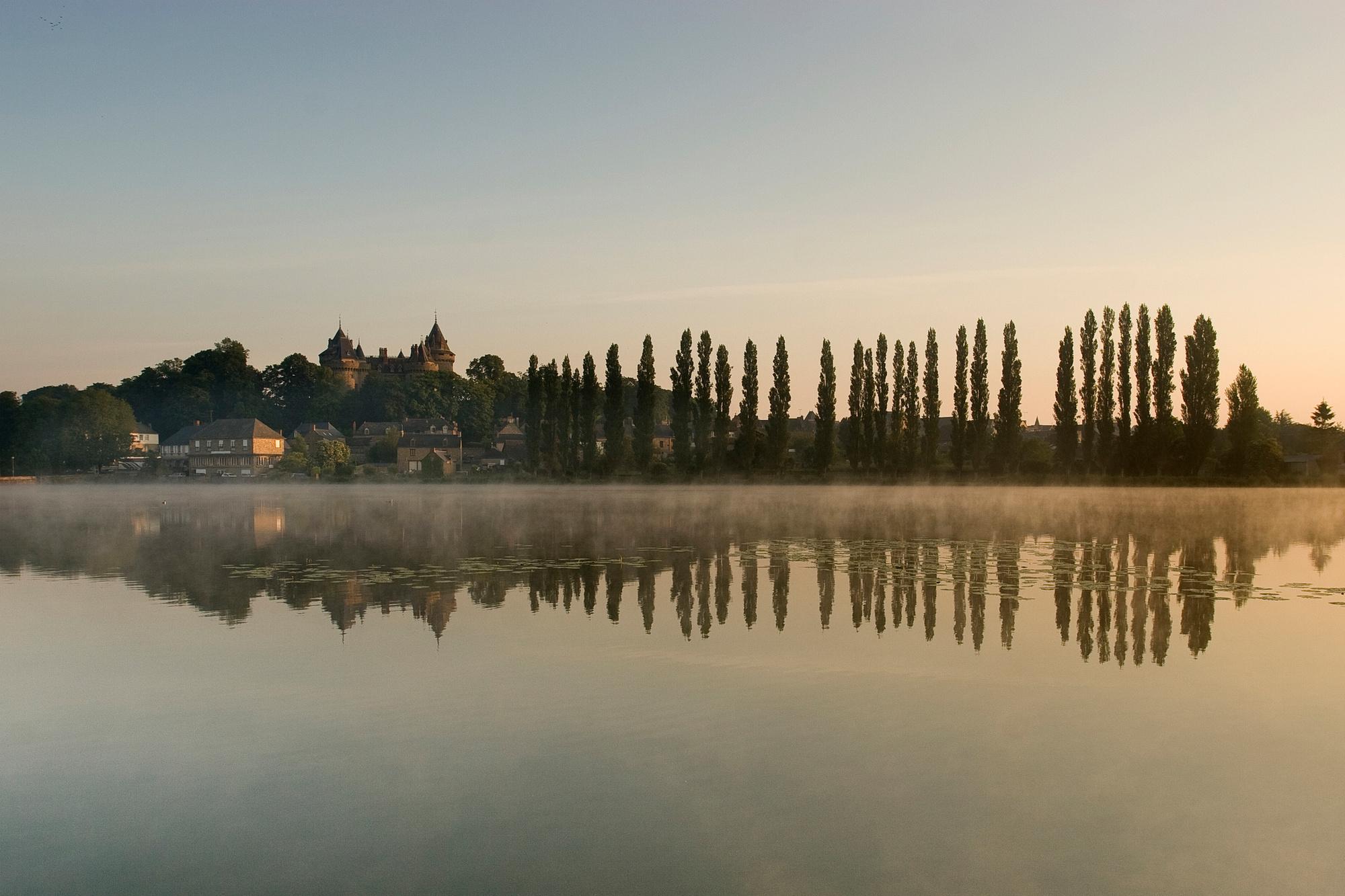 Het kasteel van Combourg., Getty