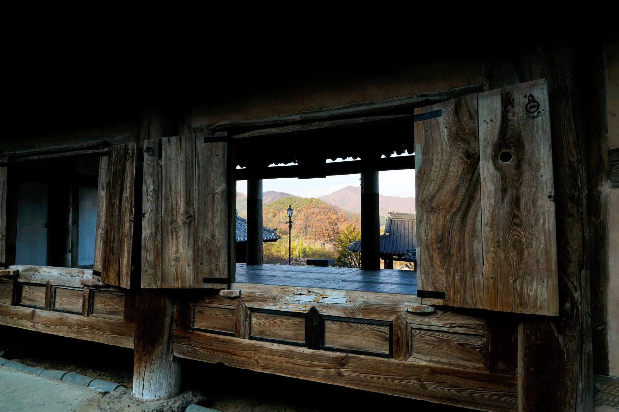 Binnenin een Seowon-academie in Zuid-korea, Getty