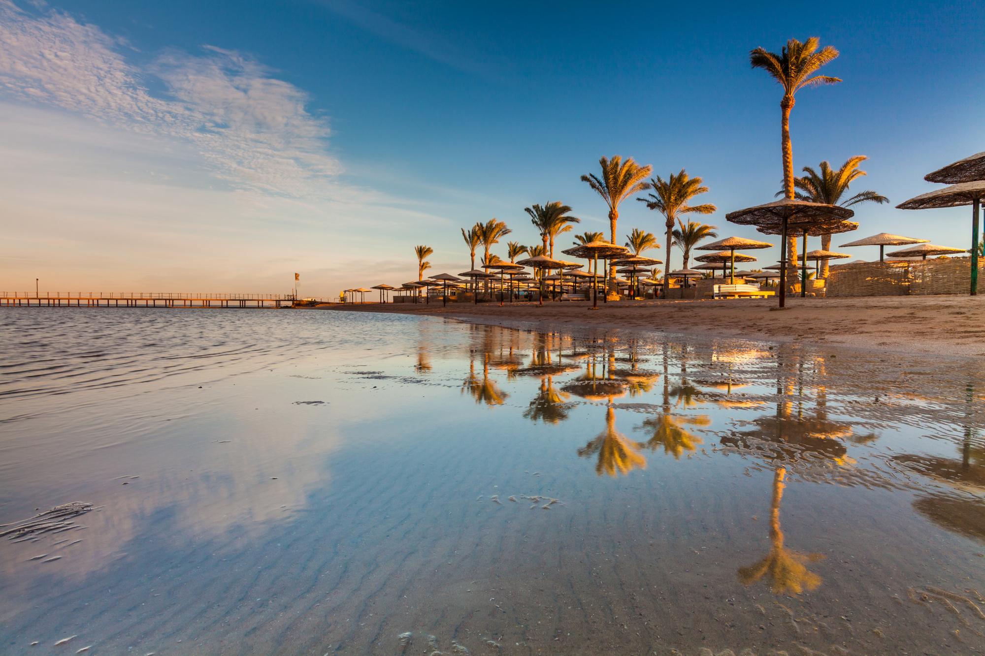 Een strandvakantie in Egypte, Getty