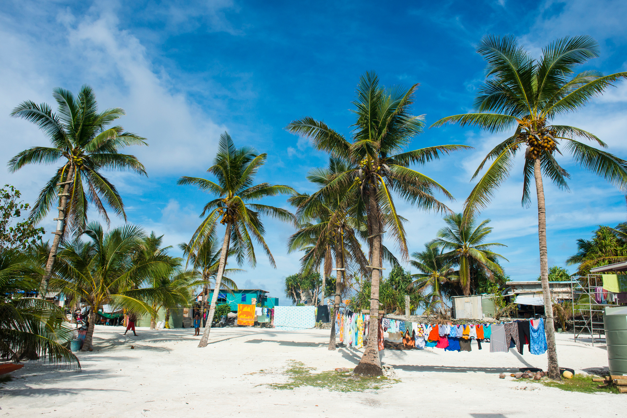 Tuvalu, het minst bezochte land ter wereld., Getty