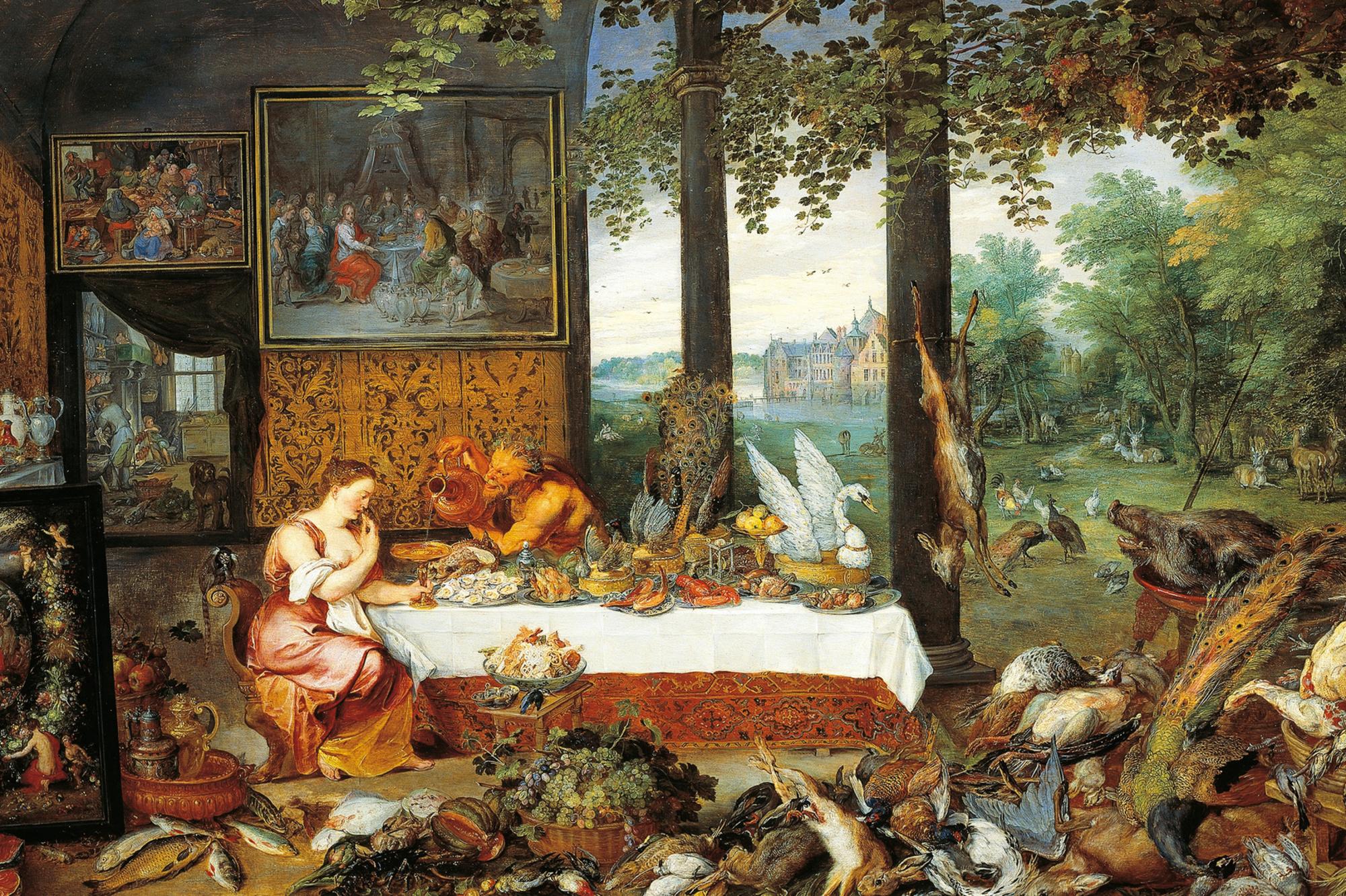 Jan Brueghel l'Ancien - Allégorie du Goût (1617-1618), iStock