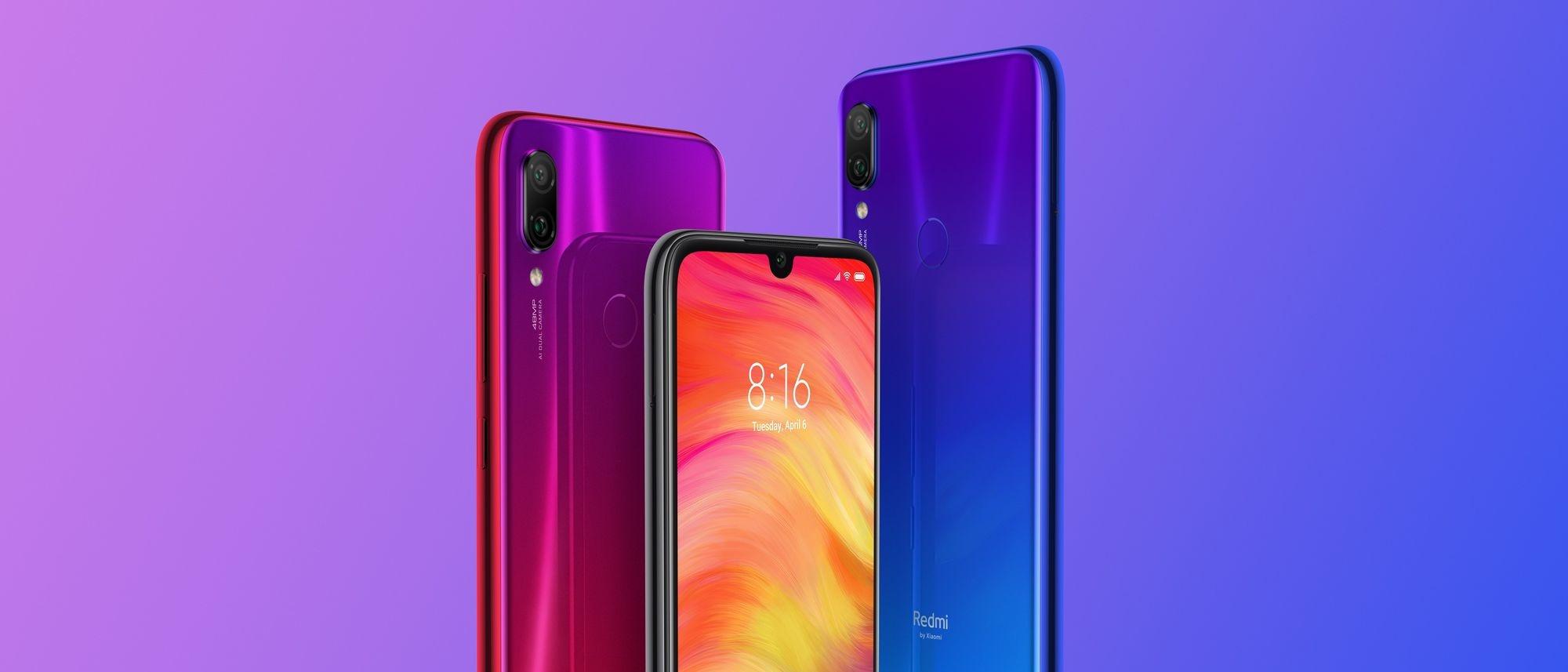Xiaomi Redmi Note 7, Xiaomi