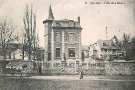 Villa des Roses à Rivière (entre Dinant et Namur), Inconnu