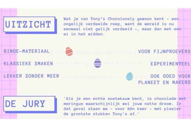 Tony's Chocolonely, 3,35 euro per reep, .