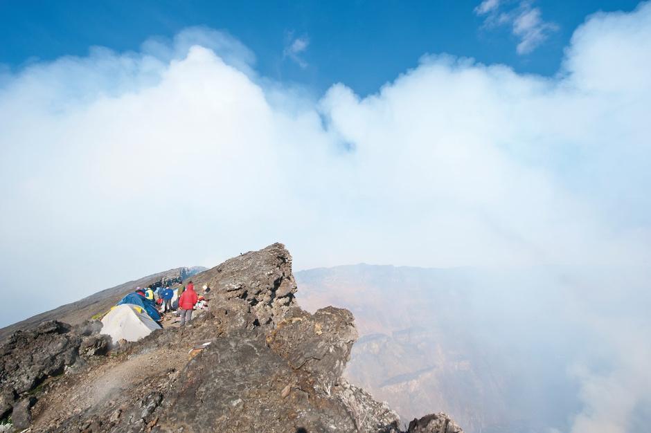 Le Mont Nyiragongo au Congo, getty
