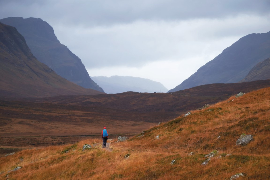 West Highland Way en Ecosse, getty
