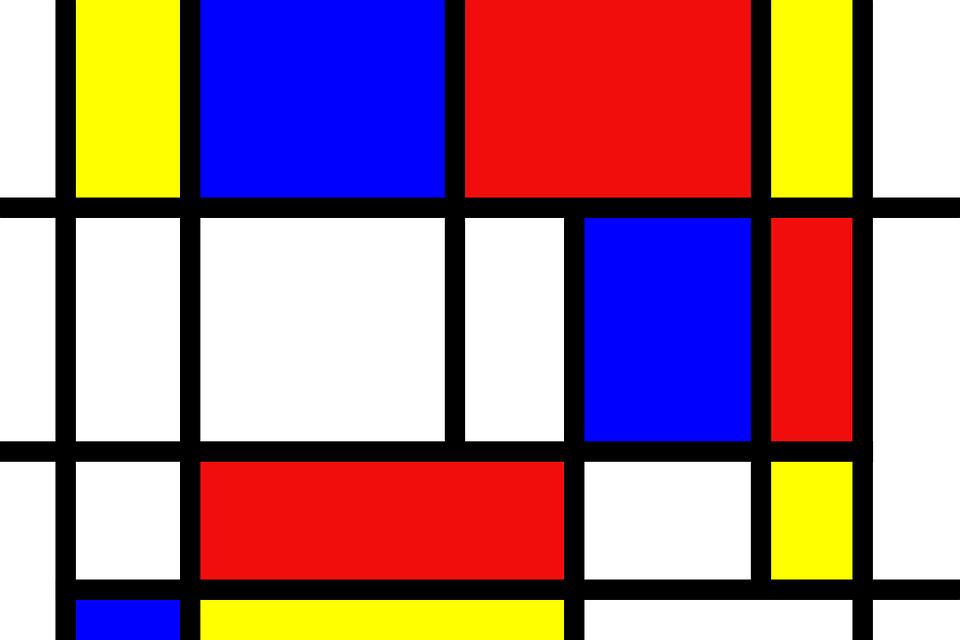 Mondurian est considéré comme l'un des pères de l'art abstrait., Wikicommons