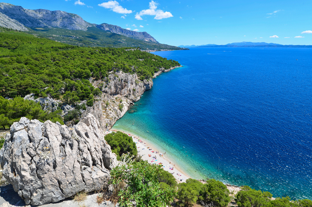 Plage de Nugal, Croatie, DR