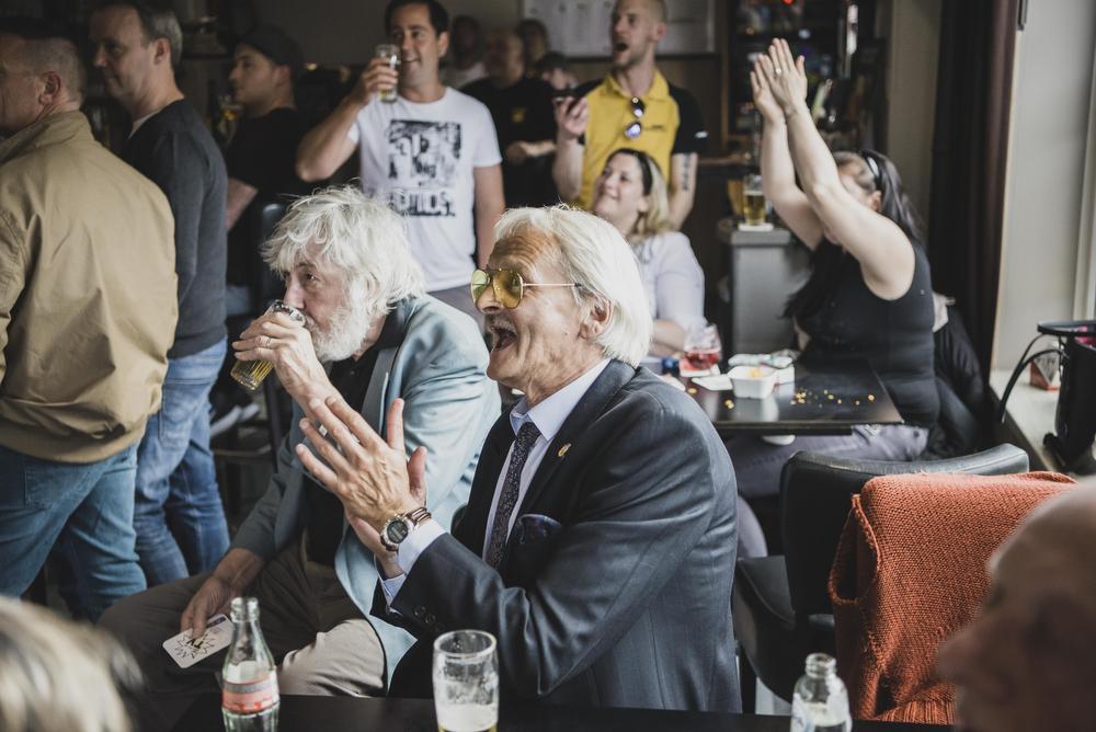 Feest bij Vlaams Belang Kortrijk., Olaf Verhaeghe