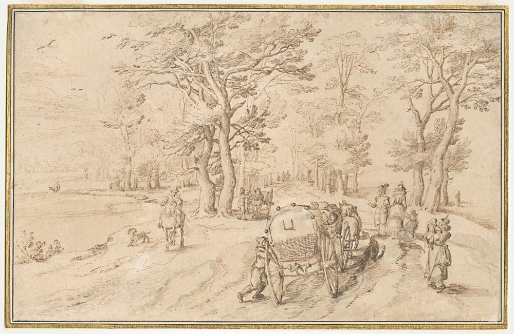 Jan Breughel I, Museum Plantin Moretus/Prentenkabinet, Antwerpen - Unesco Werelderfgoed ©Rijksmuseum, Rijksprentenkabinet, Amsterdam ©British Museum