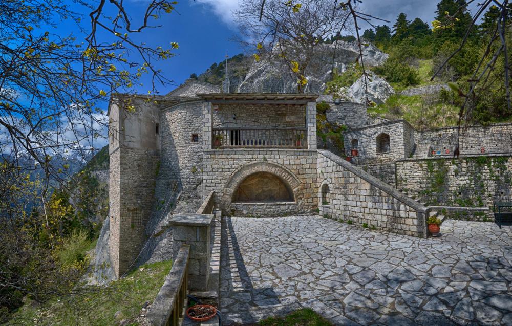 Le monastère de Panagia Pelekiti, Getty