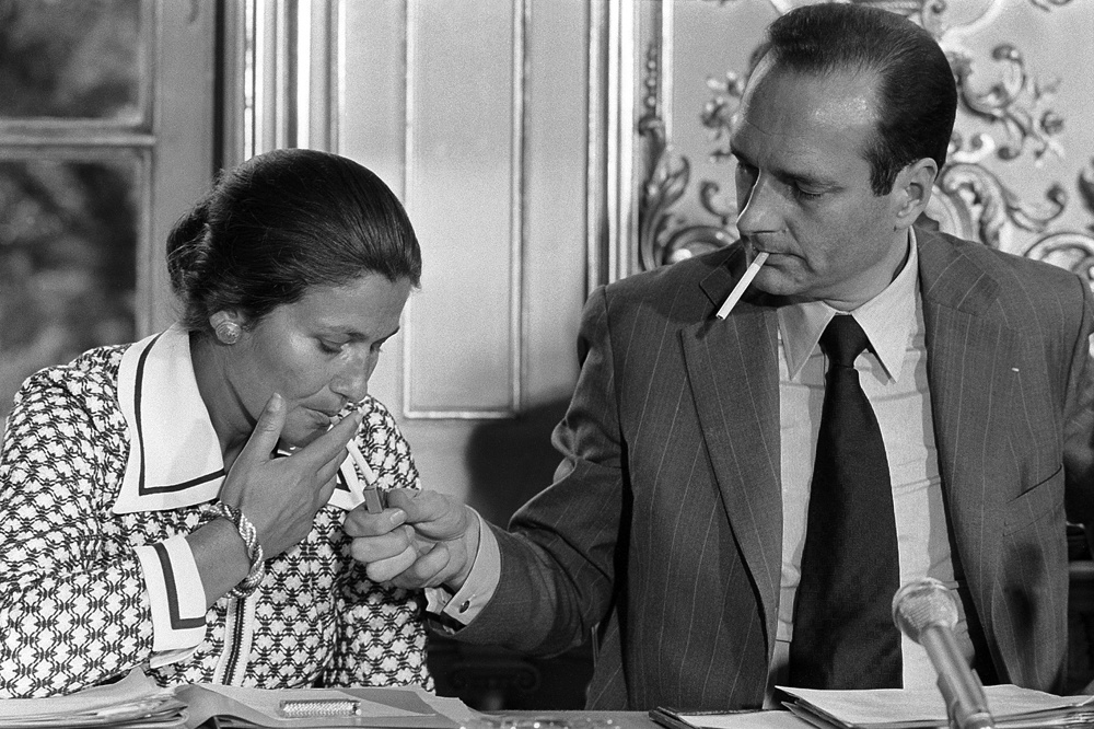 Jacques Chirac et Simone Weil, Getty Images