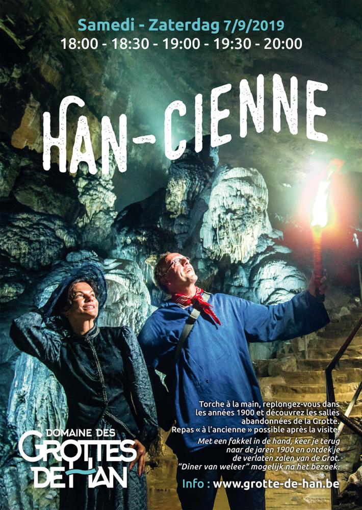 ., Le domaine des grottes de Han